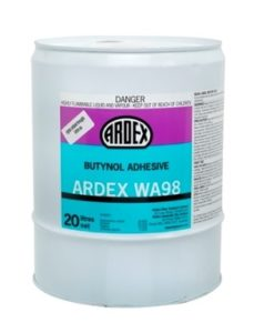 ARDEX WA 98 Butynol Adhesive